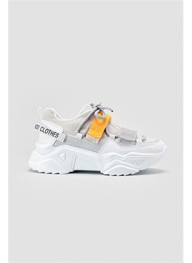 Limoya Sneakers Gümüş